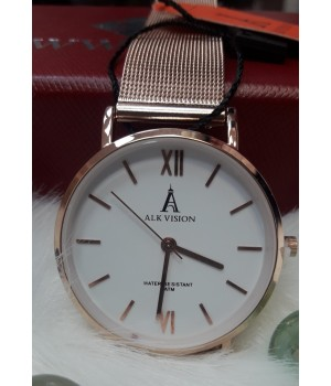 Женские часы Alk Vision Золотой ремешок
