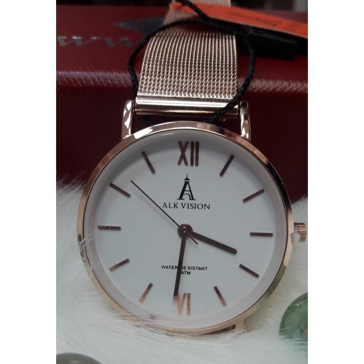 Купить Женские часы Alk Vision Золотой ремешок