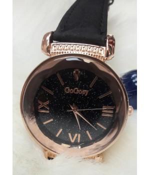 Женские часы GoGoey Черный ремешок