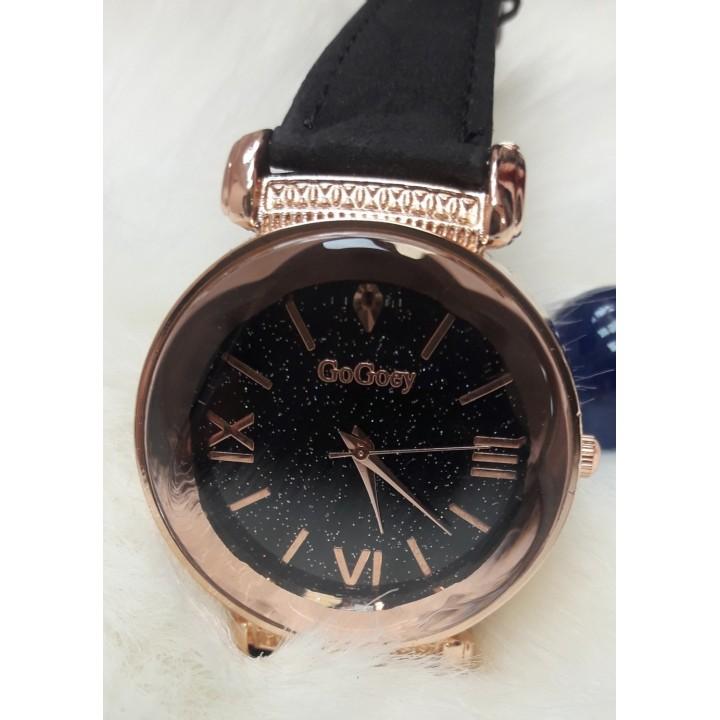 Купить Женские часы GoGoey Черный ремешок