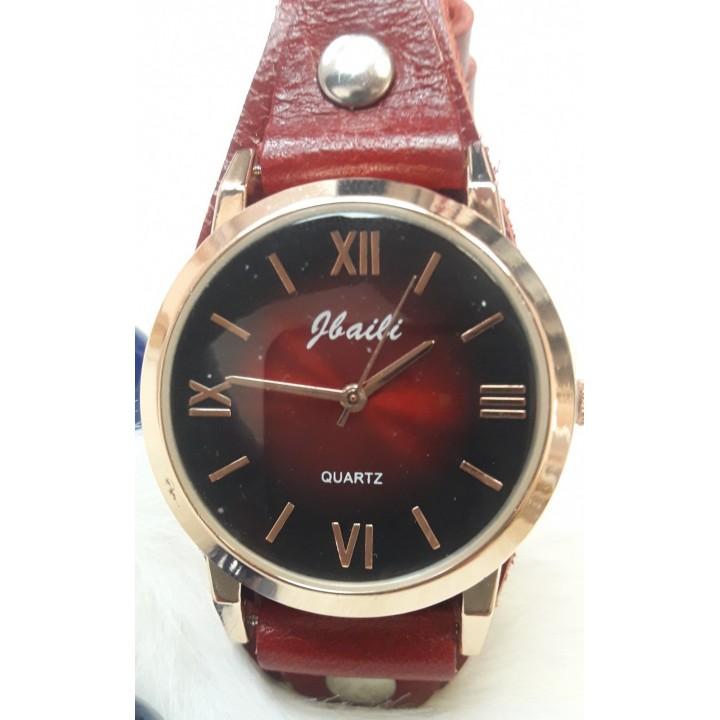 Купить Женские часы Jbaili Aimecor Бордовый ремешок