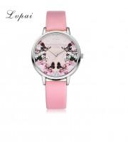 Женские часы Lvpai Розовый ремешок