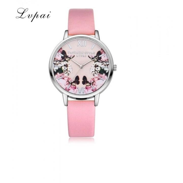 Купить Женские часы Lvpai Розовый ремешок