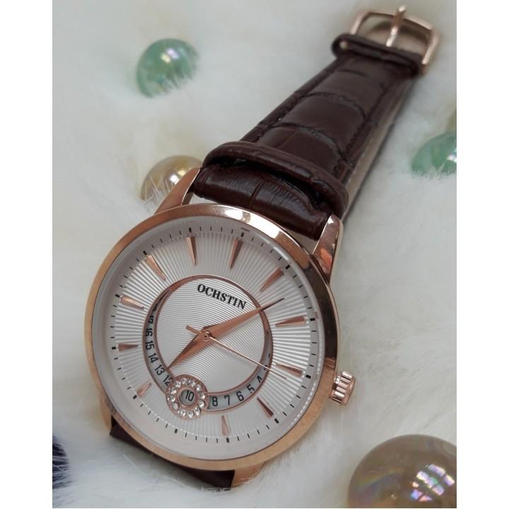 Купить Женские часы Ochstin Duobla Коричневый ремешок