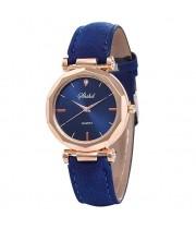 Женские часы Shshd Синий ремешок