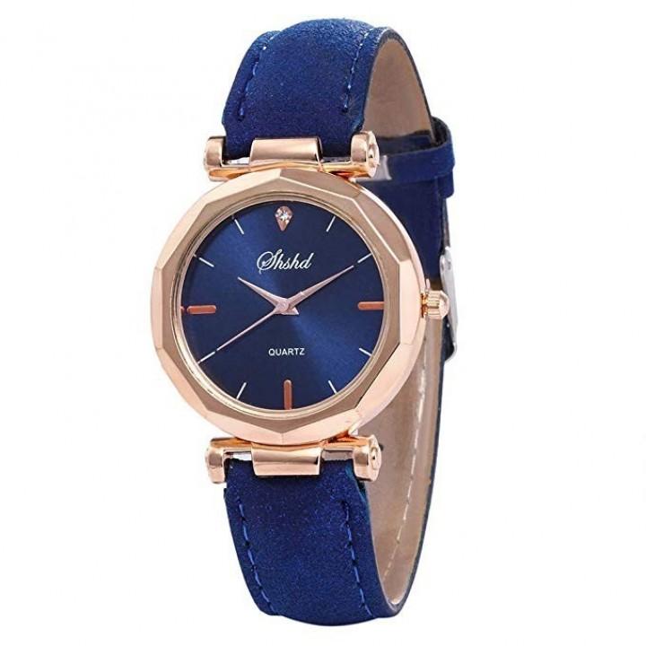 Купить Женские часы Shshd Синий ремешок