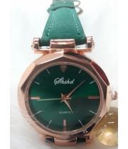 Женские часы Shshd Зеленый ремешок