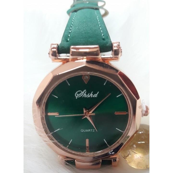 Купить Женские часы Shshd Зеленый ремешок