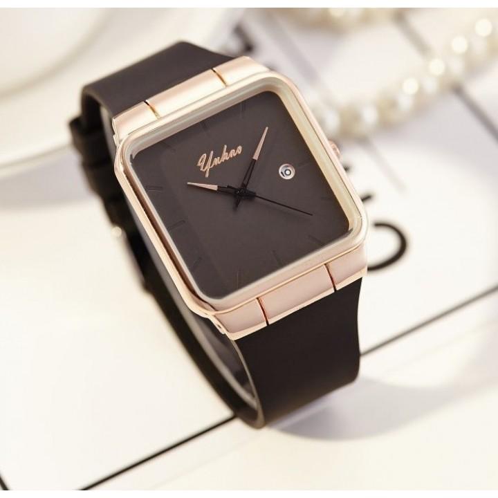 Купить Женские часы Yuhao Cyd Черный ремешок