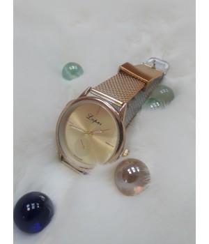 Жіночі годинники Geneva Duobla Рожевий ремінець