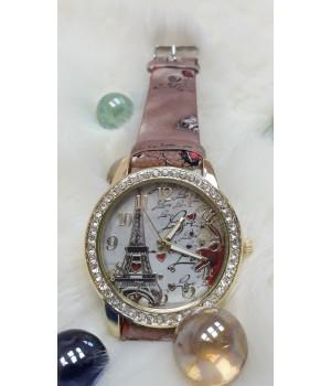 Женские часы Aimecor Susenstone Коричневый принт