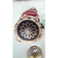 Женские часы Jbali Yazole Красный ремешок