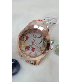 Женские часы Bowake Ремешок с цветочным принтом