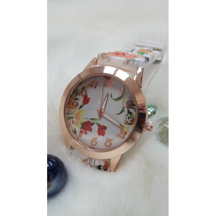 Купить Женские часы Bowake Ремешок с цветочным принтом