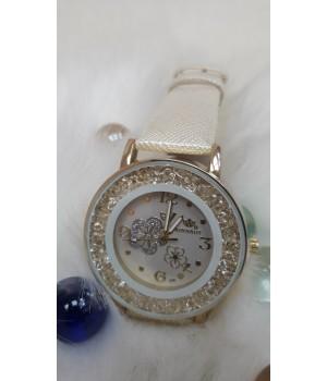 Жіночі годинники Alk Vision Коричневий ремінець