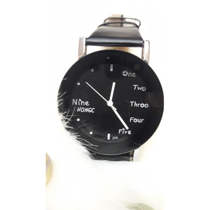 Купить Женские часы Nine Hongc Черный ремешок