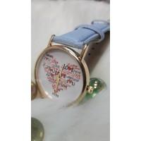 Женские часы BOWAKE Голубой ремешок