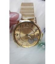 Женские часы WoMaGe Золотистый ремешок