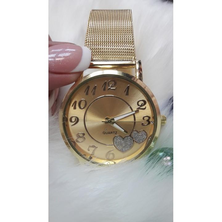 Купить Женские часы WoMaGe Золотистый ремешок