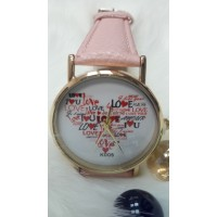 Женские часы Bowake Пудровый ремешок