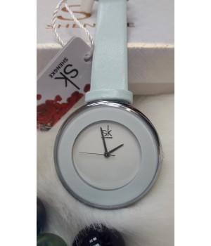 Женские часы Ck Голубой ремешок