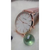 Женские часы Ulzzang Пудровый ремешок