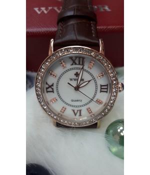 Жіночі годинники Alk Vision Золотий ремінець
