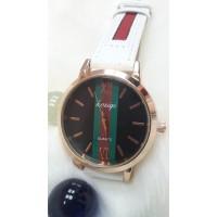 Женские часы : Kasigi Красно белый ремешок