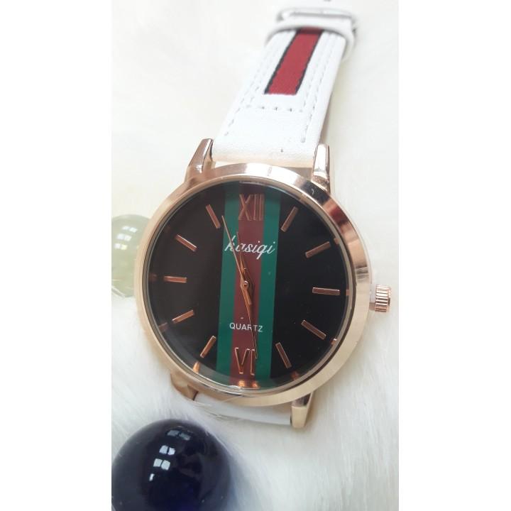 Купить Женские часы : Kasigi Красно белый ремешок