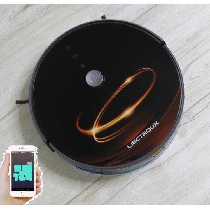 """Купить Робот пылесос LIECTROUX C30B  Коричневое золото.  WI-FI. Модель 2020 года. Гарантия 12 месяцев от сервис центра """"Liectroux"""" Украина"""