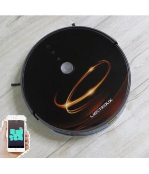 Робот пылесос LIECTROUX C30B  Коричневое золото.  WI-FI. Модель 2020 года. Гарантия 1 год от производителя