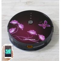 Купить Робот пылесос LIECTROUX C30B   Рубиновая сакура.  WI-FI. Немецкий бренд. Европейская версия. Модель 2020 года. Гарантия 1 год от производителя