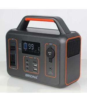 Портативна електростанція ДБЖ з зарядкою від сонячних батарей BRIDNA 300W SGR-PPS3012-2