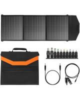 Портативна сонячна панель SGR-SP60W складна монокристалічна кремнієва для зарядки пристроїв