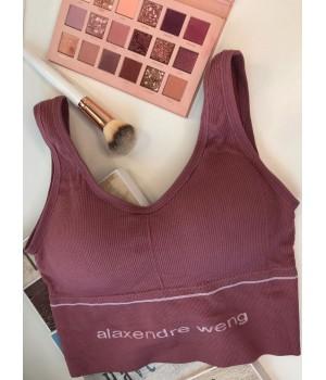 Женский топ - лиф Alaxendre weng цвет Розовый (пудра)