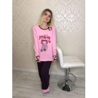 Пижама женская Турция Anqel S,M,L,XL,2XL,3X