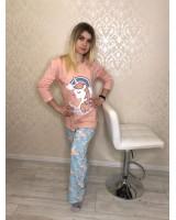 Пижама женская Турция трикотаж Razo S,M,L,XL,2XL,3X