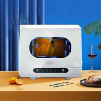 Посудомийна машина настільна портативна міні SALIETE S511, Біла
