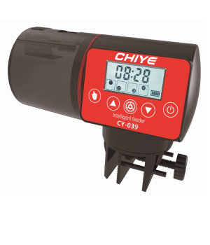 Кормушка  для аквариума автоматическая CHIYE CY-039 с LCD-монитором