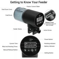 Купить Кормушка для рыб аквариумная автоматическая CHIYE CY-069 с LCD-монитором