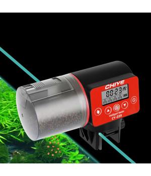 Кормушка для рыб аквариумная автоматическая CHIYE CY-039 с LCD-монитором