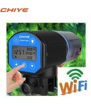Кормушка для рыб аквариумная автоматическая CHIYE CY-059DW с LCD-монитором, WIFI