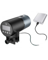 Годівниця для риб акваріумна автоматична CHIYE CY-069C з LCD-монітором, літієвий акумулятор