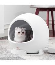 Автоматический умный домик лежанка для животных COZY PETKIT P810, климат контроль теплый и прохладный режим.
