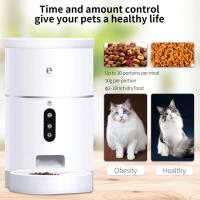 Годівниця для кішок і собак автоматична ELS-PET F001  WiFi, 4,0 л.  Біла