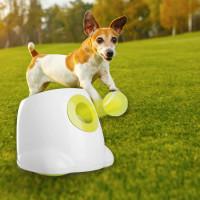 Автоматическая интерактивная игрушка метатель мячей для собак Paws-3196