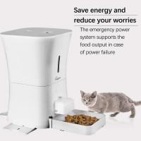 Годівниця для кішок і собак автоматична SKYMEE AL-B30. WiFi, 12л. Біла