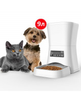 Годівниця для кішок і собак автоматична Pet-U M20-9, 9л. Біла