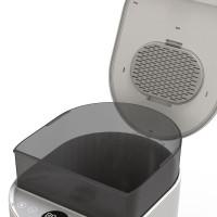Годівниця для середніх і великих порід собак автоматична PetWant F5, 10л. Біла