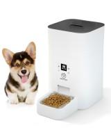 Кормушка для кошек и собак автоматическая Papifeed PF007, 4,5л. Белая